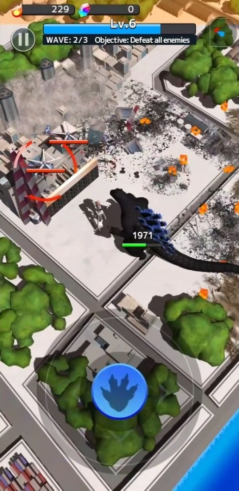 GODZILLA DESTRUCTION Android Game Image 4