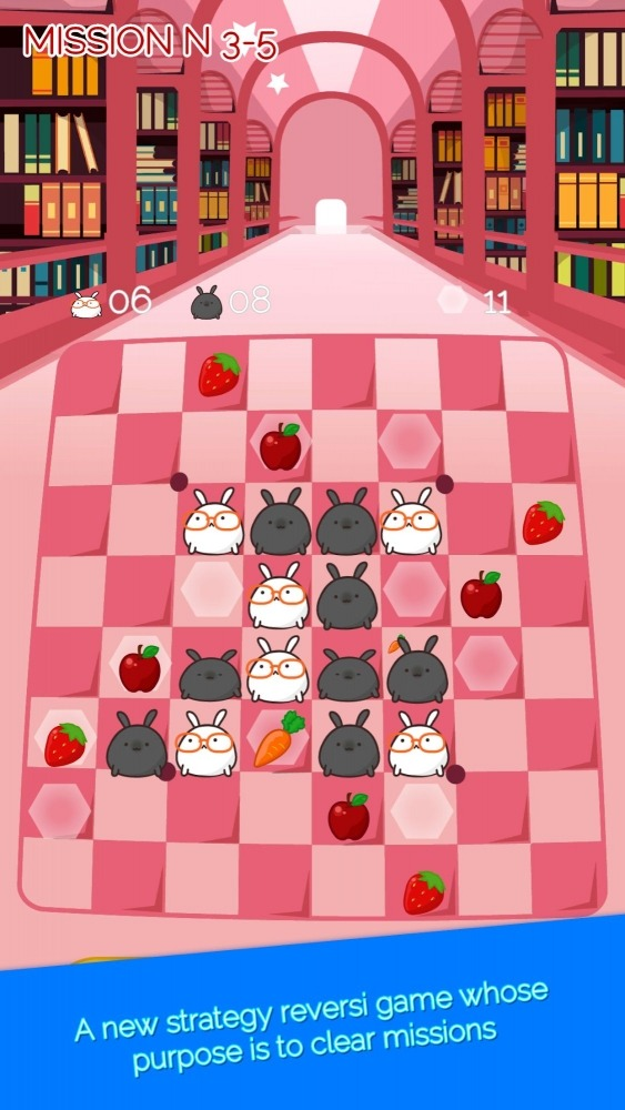 Bunny And Reversi Android Game Image 2