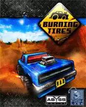Burning Tires 3D Java Game Image 1