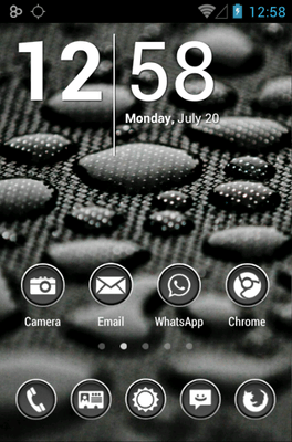 Phoney White Icon Pack Android Theme Image 1