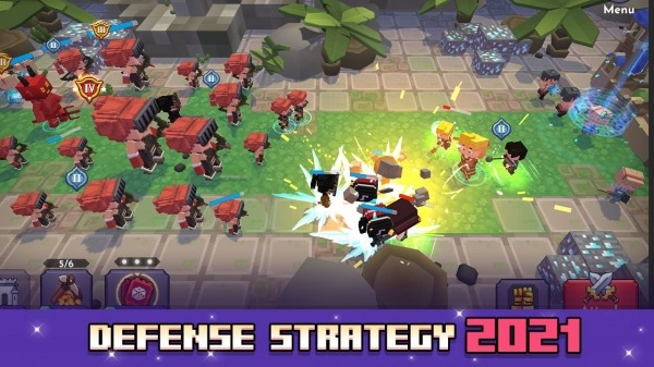 Blo'k Warriors Android Game Image 1