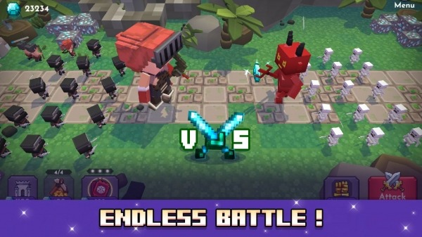 Blo'k Warriors Android Game Image 2