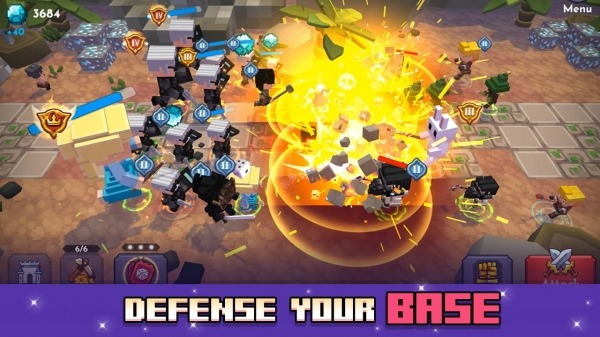 Blo'k Warriors Android Game Image 3