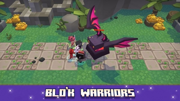 Blo'k Warriors Android Game Image 4