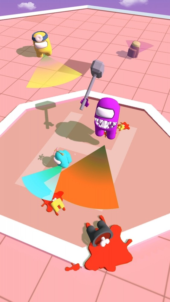 Imposter Smashers - Fun Io Games Android Game Image 2