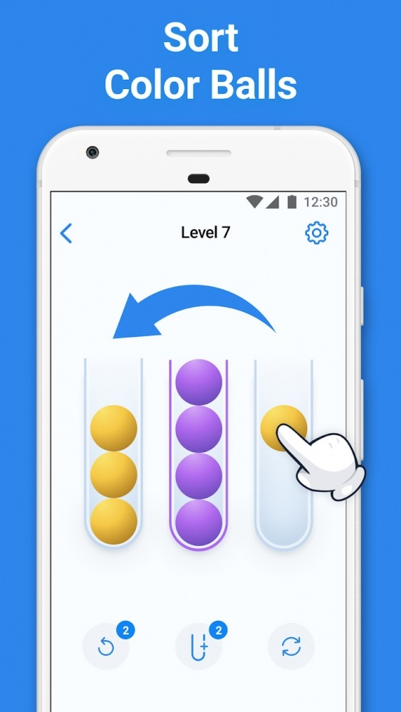 Sort 3D - Sorting Puzzle Games Android Game Image 1