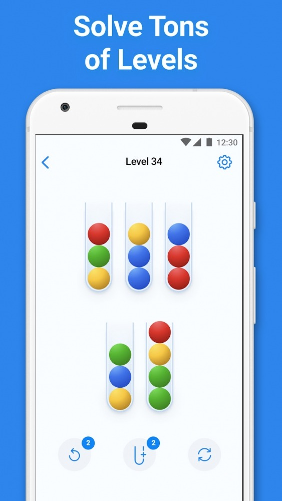 Sort 3D - Sorting Puzzle Games Android Game Image 2