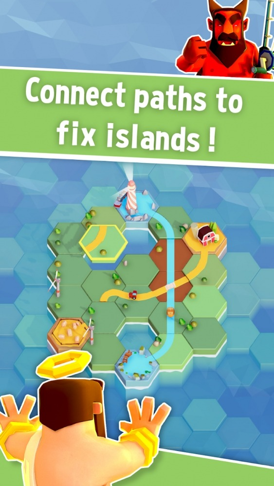 HIX: Puzzle Islands Android Game Image 1