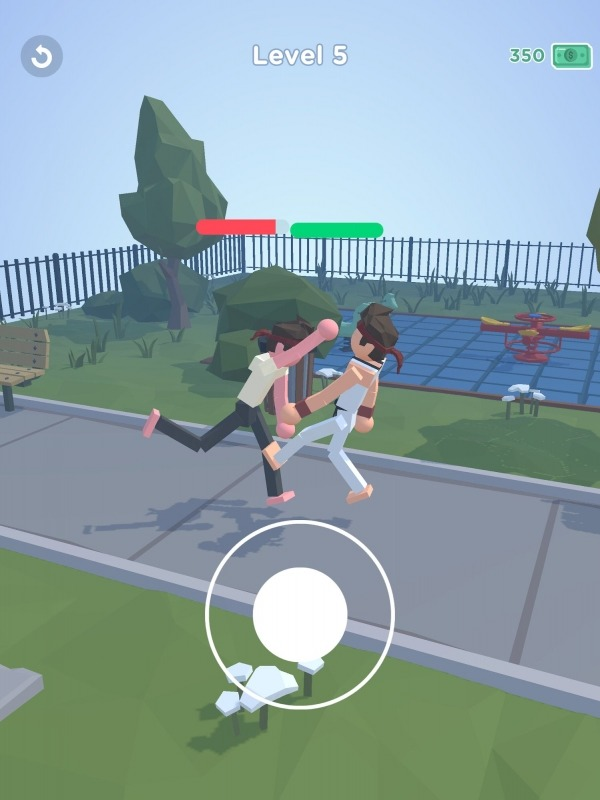 Ragdoll Fighter Android Game Image 1