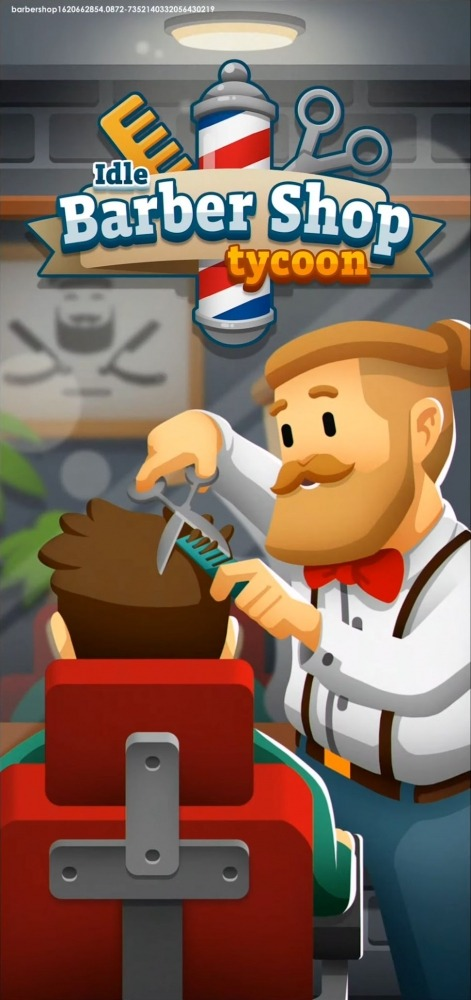 Idle Barber Shop Tycoon - Business Management Game Android Game Image 1