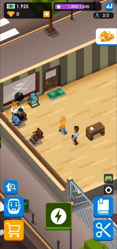 Idle Barber Shop Tycoon - Business Management Game Android Game Image 2