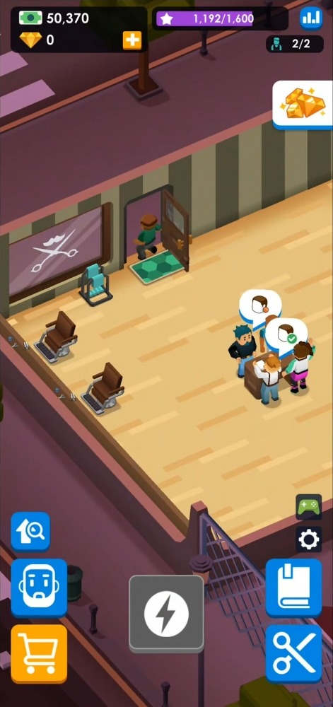 Idle Barber Shop Tycoon - Business Management Game Android Game Image 4