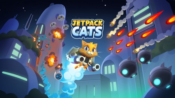 Jetpack Cats Android Game Image 1