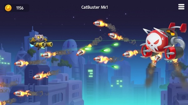 Jetpack Cats Android Game Image 2