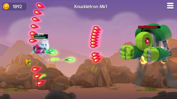 Jetpack Cats Android Game Image 3
