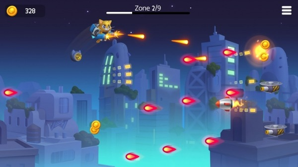 Jetpack Cats Android Game Image 4