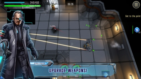 Robot Warrior: Top-down Shooter. Offline Game. Android Game Image 4