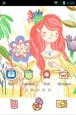 Bora Girl Icon Pack Android Theme Image 2