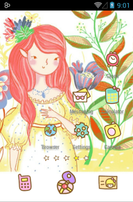 Bora Girl Icon Pack Android Theme Image 3