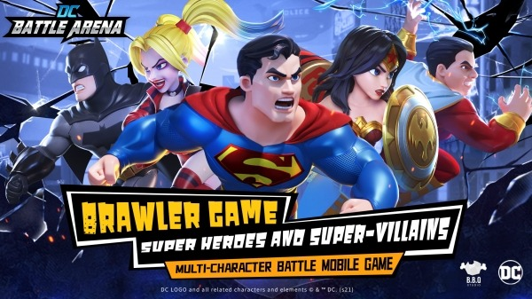 DC Battle Arena Android Game Image 1