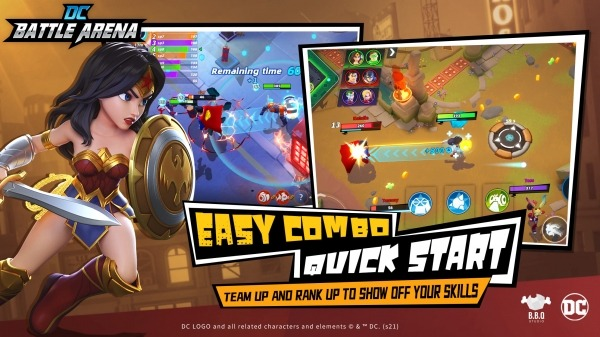 DC Battle Arena Android Game Image 4