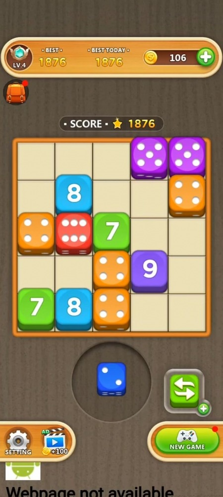 Dice Puzzle - Merge Puzzle Android Game Image 3