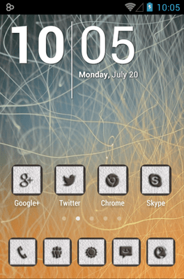 CUERO Icon Pack Android Theme Image 1