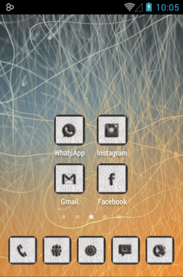 CUERO Icon Pack Android Theme Image 2