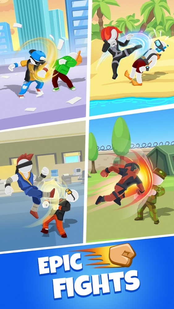 Match Hit - Puzzle Fighter Android Game Image 2