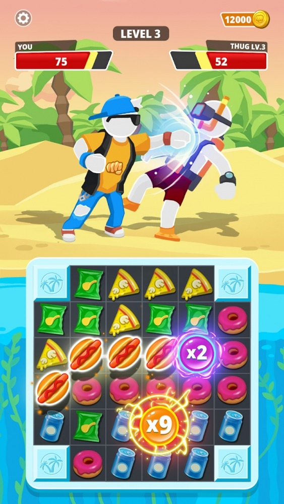 Match Hit - Puzzle Fighter Android Game Image 4