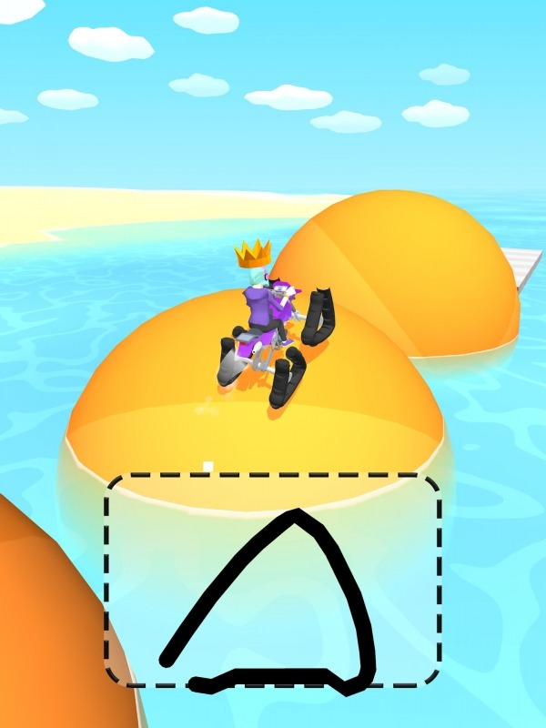 Scribble Rider Android Game Image 1