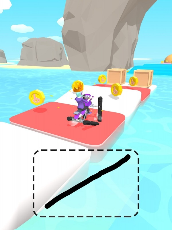 Scribble Rider Android Game Image 2