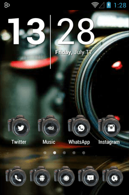 Camera Icon Pack Android Theme Image 1