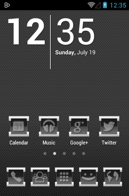 Engrave Icon Pack Android Theme Image 1