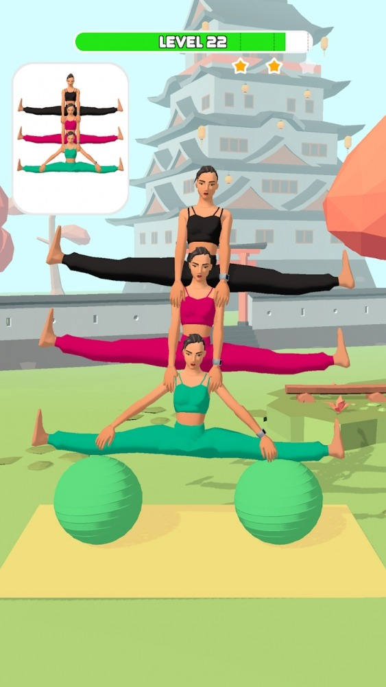 Couples Yoga Android Game Image 1