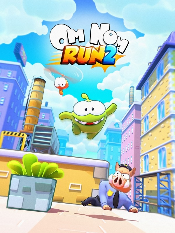 Om Nom: Run 2 Android Game Image 1