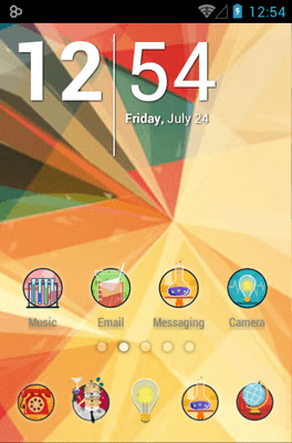 Crazy Scientist Icon Pack Android Theme Image 1