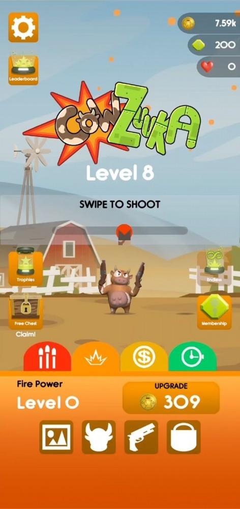 Cowzuuka Android Game Image 1