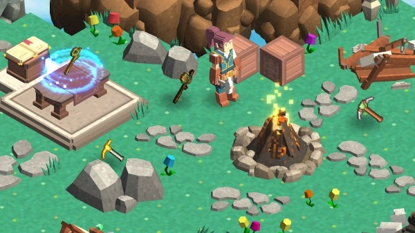 MergeCrafter - Magical Merge World Android Game Image 3