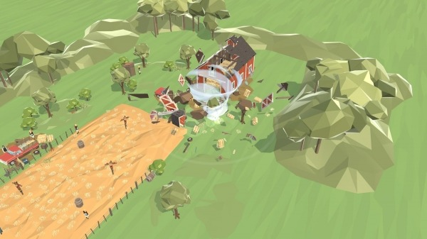 Mighty Tornado! Android Game Image 1