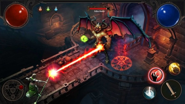 Path Of Evil: Immortal Hunter Android Game Image 3