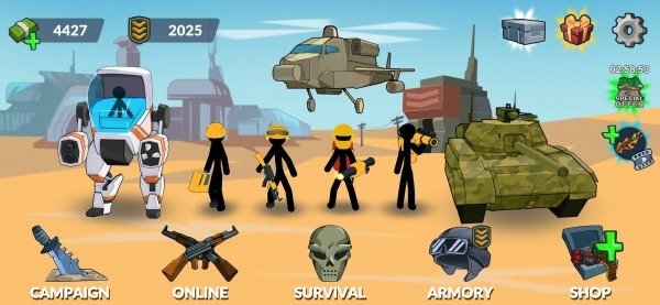 Stickman World Battle Android Game Image 1