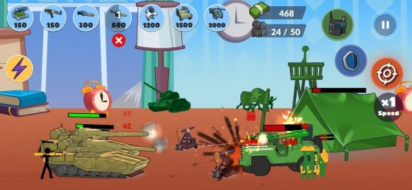Stickman World Battle Android Game Image 3