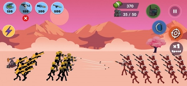 Stickman World Battle Android Game Image 4