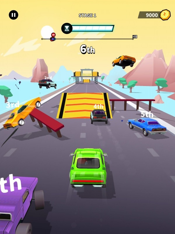 Timeshift Race Android Game Image 2