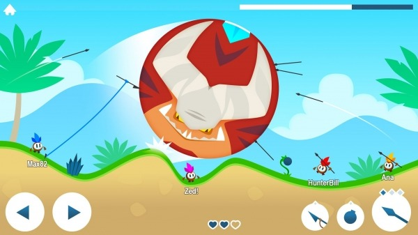 Tiny Hunters Android Game Image 1