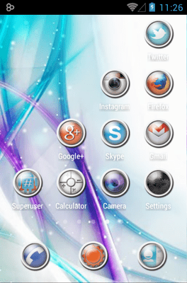 Rooundy Icon Pack Android Theme Image 3