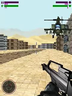 Assault Group 3D Java Game Image 3