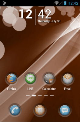 Grunge Icon Pack Android Theme Image 1