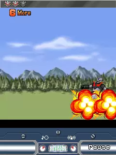 Mazinger: The Battle Of The Superobot Java Game Image 4